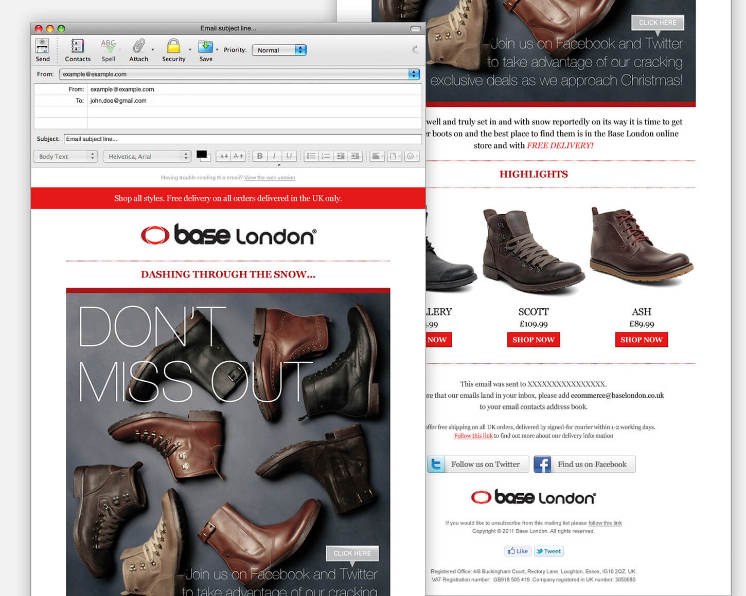 Base London Email