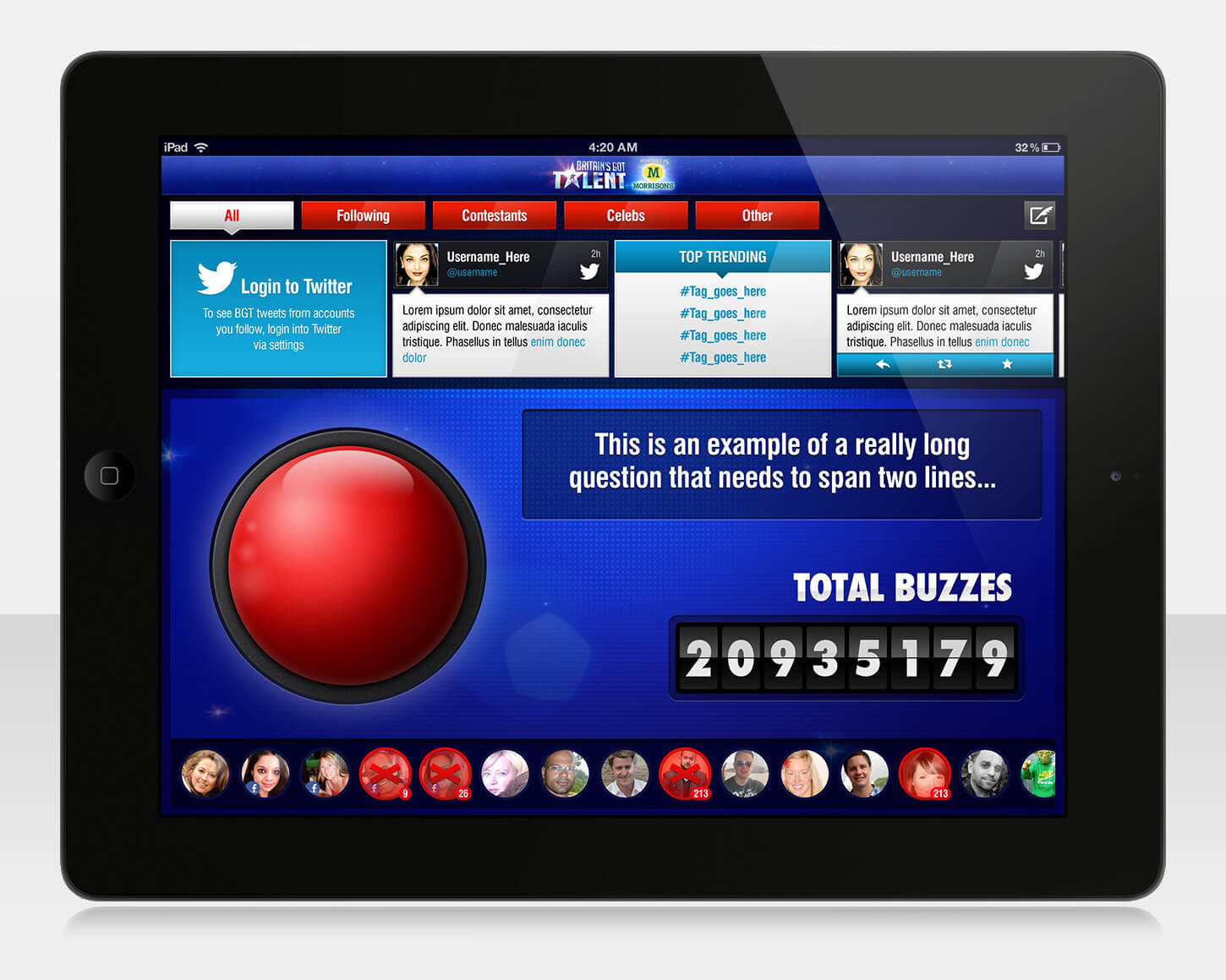 Britain's Got Talent 2013 - iPad app