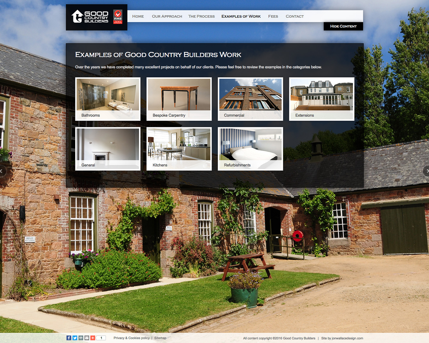 Good Country Builders website