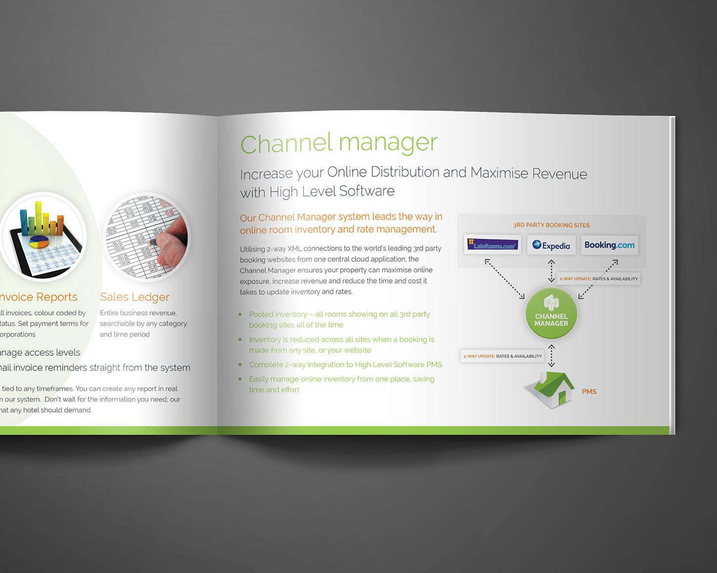 High Level Software A5 Brochure