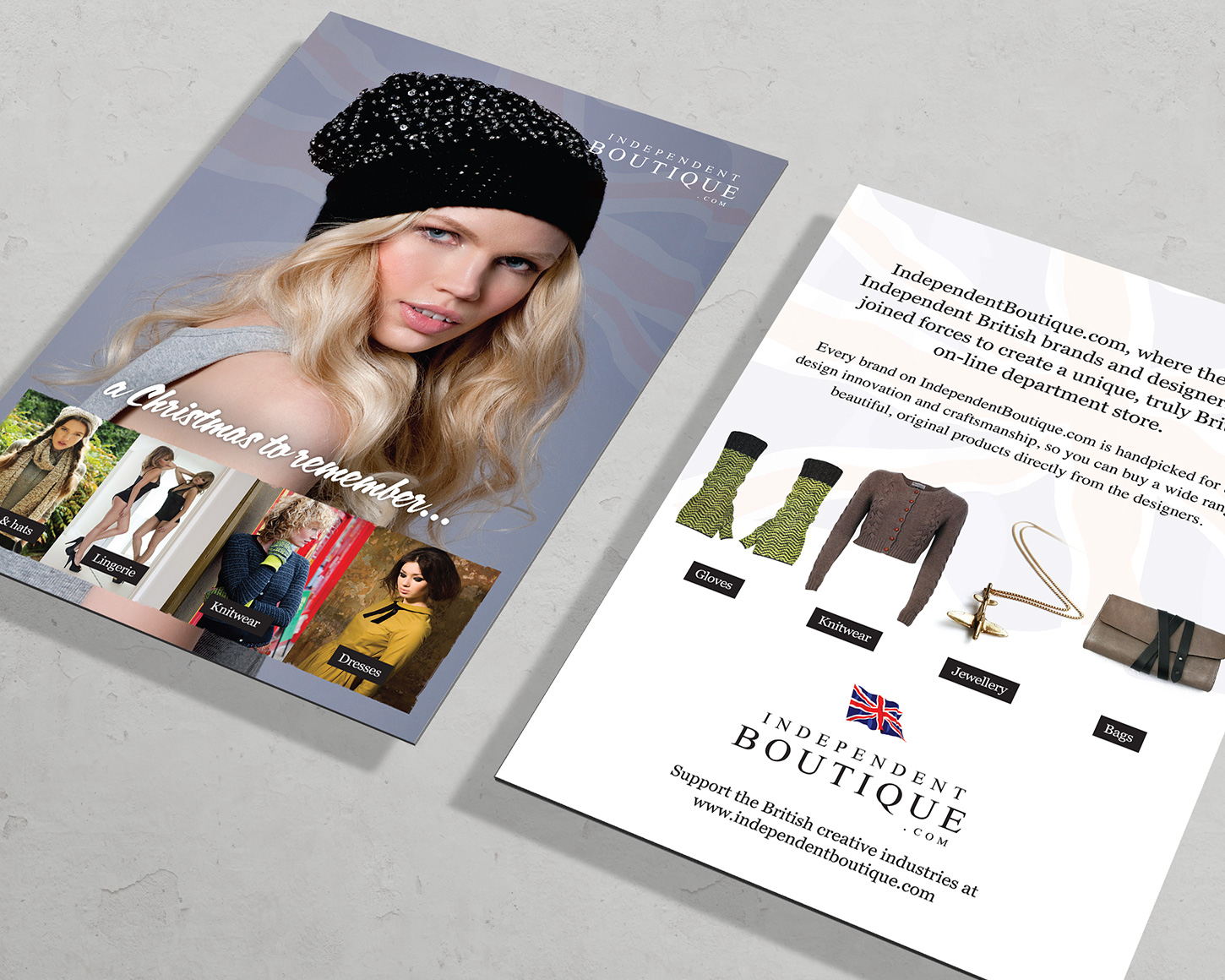 Independent Boutique flyer