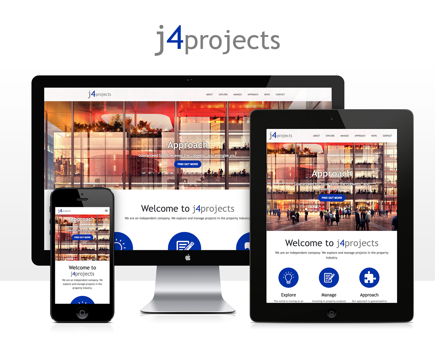 j4Projects website