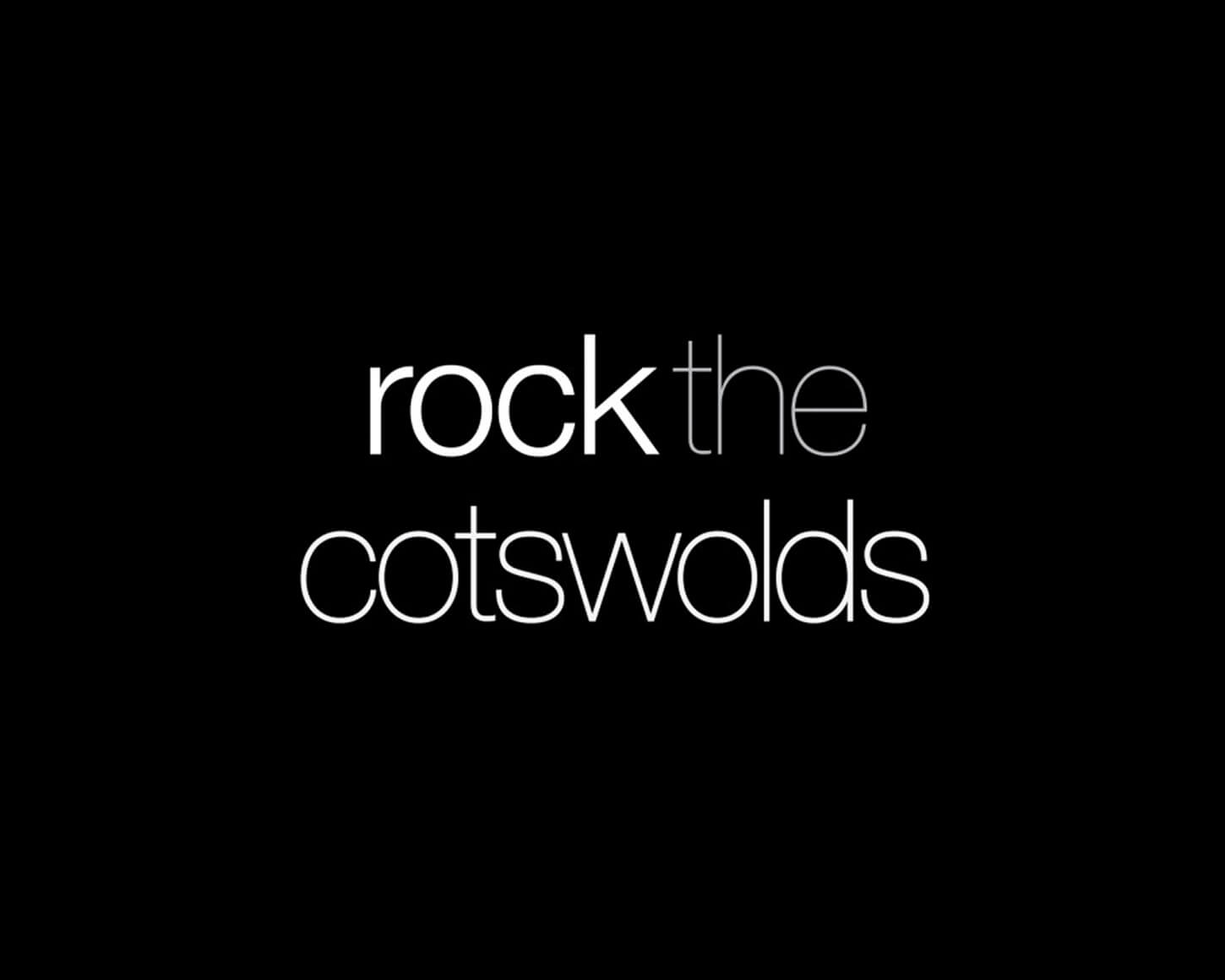 Rock the Cotswolds branding