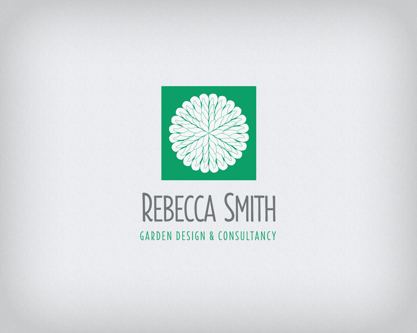Rebecca Smith Garden Design branding