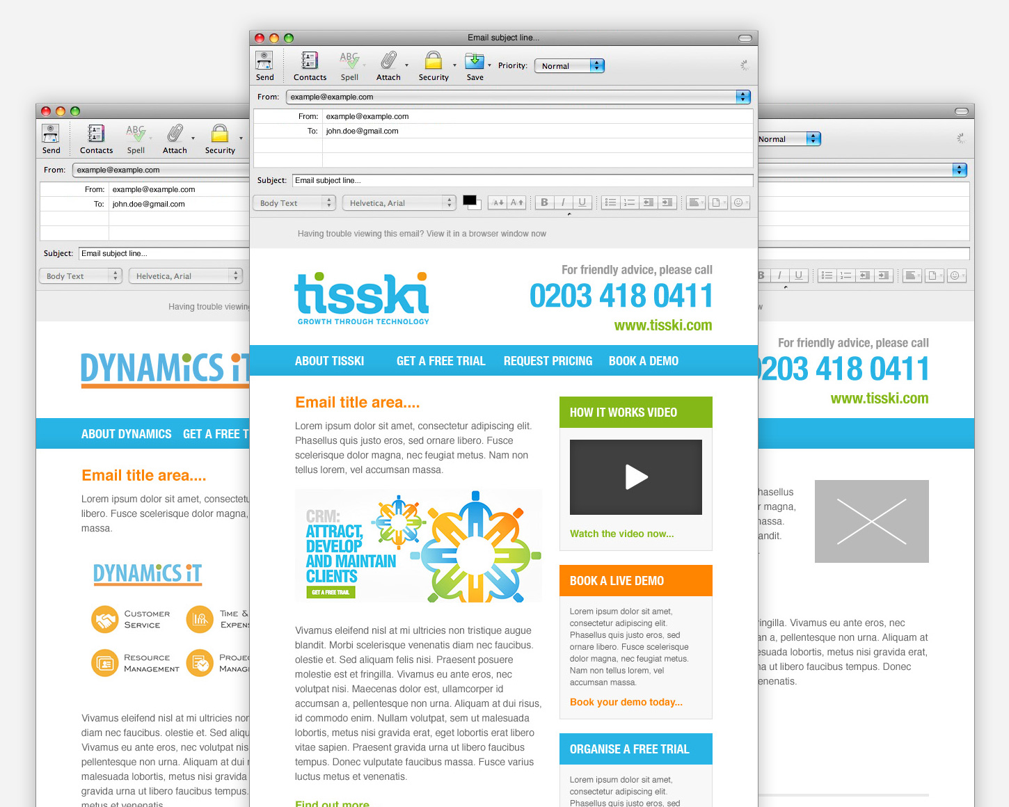 Tisski HTML Email Marketing